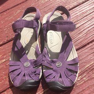 Keen Purple Velcro Waterproof Sandals